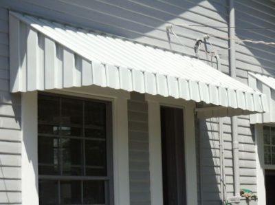 aluminum awning